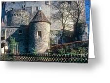 Guttenberg Castle Greeting Card