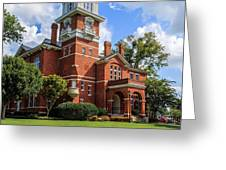 Gwinnett County Historic Courthouse Greeting Card by Doug Camara