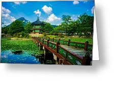 Gyeongbokgung Palace Greeting Card