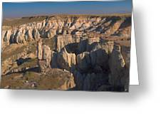 Gypsum Cliffs Greeting Card