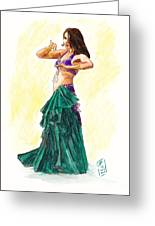 Gypsy Greeting Card