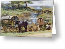 Gypsy Encampment Greeting Card