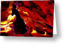 Gypsy Flame Greeting Card