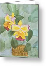 Gypsy Orchids Greeting Card
