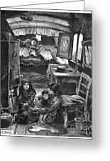 Gypsy Wagon, 1879 Greeting Card