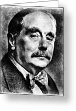 H. G. Wells Author Greeting Card
