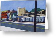 H Street Ne / Atlas District In Washington Dc Greeting Card