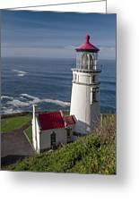 Haceta Head Lighthouse Greeting Card