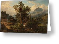 Hacienda De San Esteban De Puerto Cabello, Venezuela Greeting Card
