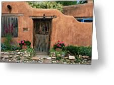 Hacienda Santa Fe Greeting Card
