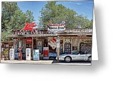 Hackberry General Store On Route 66, Arizona Greeting Card