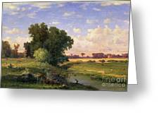 Hackensack Meadows - Sunset Greeting Card