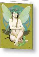 Hada Amarilla Greeting Card