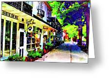 Haddonfield Tanner Street Greeting Card