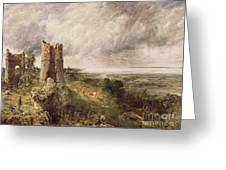 Hadleigh Castle Greeting Card