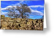 Hadrians Tree Greeting Card