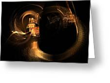 Hadron Collider Greeting Card