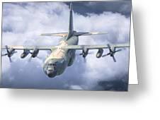 Haf C-130 Hercules Greeting Card