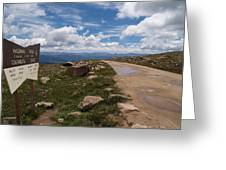 Hagerman Pass View Greeting Card