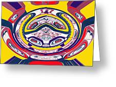 Haida Three Greeting Card