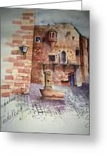 Haidelburg Castle Greeting Card
