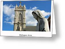 Hail Mary, Full Of Grace Greeting Card