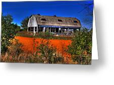 Hainesville Barn Color Greeting Card