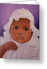 Haitian Baby Orphan Greeting Card