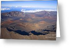 Haleakala Crater Greeting Card