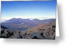 Haleakala Expanse Greeting Card