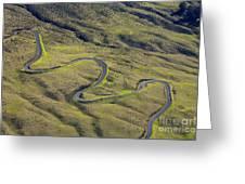 Haleakala Highway Greeting Card