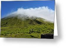 Haleakala Landscape Greeting Card