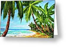 Haleiwa Beach #369 Greeting Card