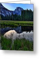 Half Dome At Sunrise Greeting Card