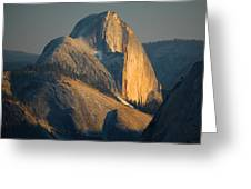 Half Dome At Sunset - Yosemite Greeting Card