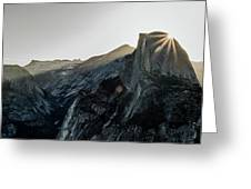 Half Dome From Glacier Point Greeting Card