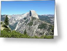 Half Dome From Inspiration Point Greeting Card