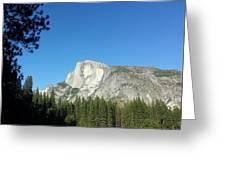 Half Dome Village Greeting Card