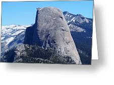 Half Dome - Yosemite  Greeting Card