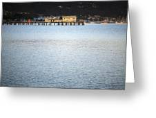 Half Moon Bay Greeting Card