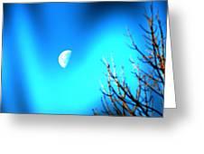 Half Moon Greeting Card
