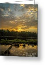 Haliburton Sunrise Greeting Card