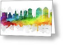 Halifax Skyline Mmr-canshx05 Greeting Card