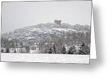 Halikko Water Tower Greeting Card