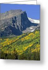 310221-v-hallet Peak In Autumn V  Greeting Card