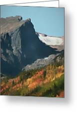 Hallett Peak Fall Colors Greeting Card