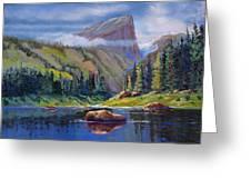 Hallett Peak Greeting Card