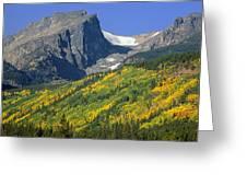 310221-hallett Peak In Autumn  Greeting Card