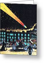 Halleys Comet, 1910 Greeting Card