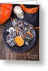 Halloween Cookies Greeting Card
